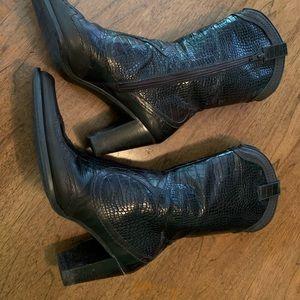 Stuart Weitzman Womens 7.5 N Preston cowboy boots